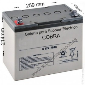 Bateria Scooter Cobra