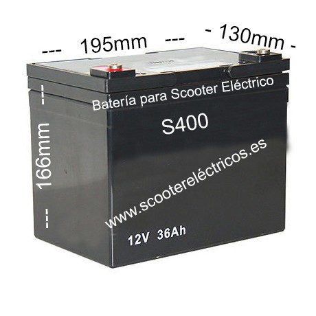 Bateria Scooter S400
