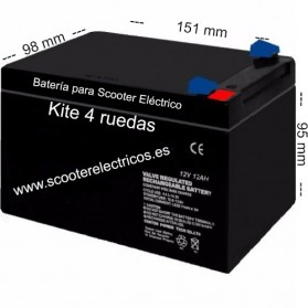 Bateria Scooter Kite 4 Ruedas