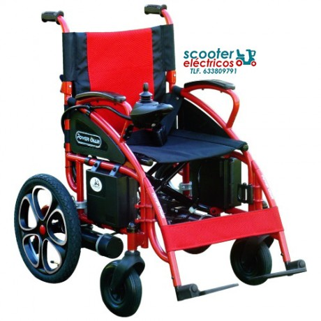 Silla de ruedas eléctrica POWER CHAIR SPORT